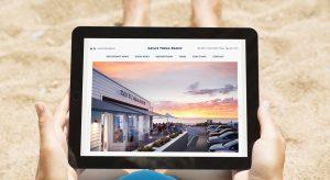 Kailis Trigg Beach - website design